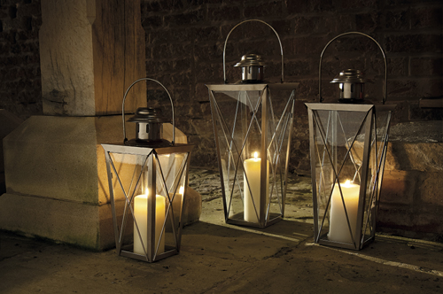 UK Garden Supplies Canopy Garden Lantern Set
