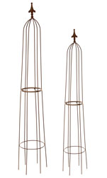 Chestnut Garden Obelisk   Large