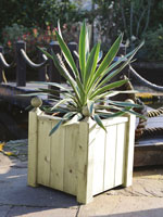 Heavy duty Studley Square Planter