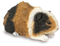 Brown Guinea Pig Ornament