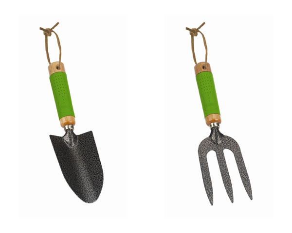 Uk garden supplies garden fork and trowel set for Garden trowel and fork set