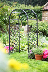 Heavy Duty Lattice Garden Arch