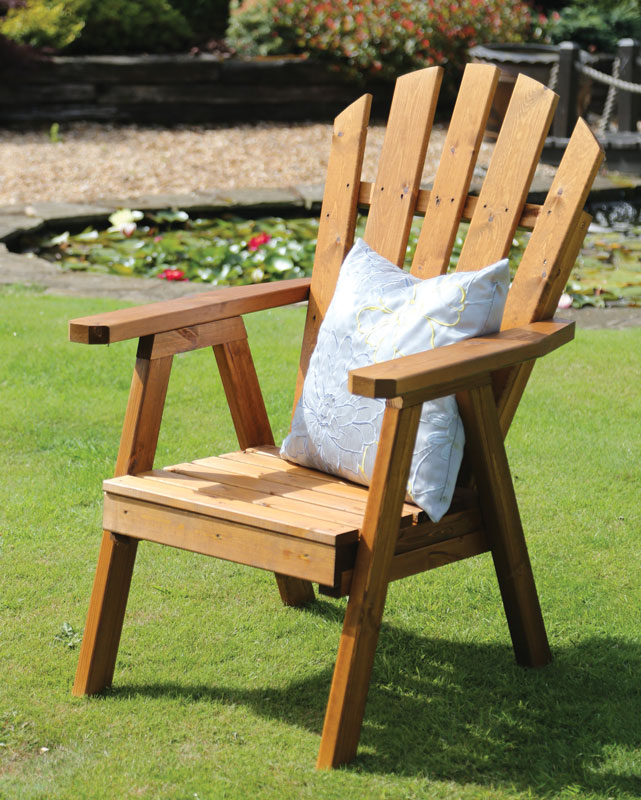 Wooden Garden Chair ~ Wooden relaxer garden chairs ftempo
