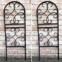 Pack of 2 x Scrolled Design Garden Trellises