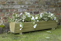Harlow Trough Wood Planter